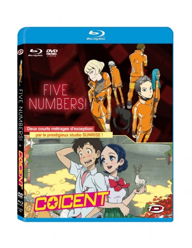 Coicent & Five Numbers! - DVD+Blu-ray