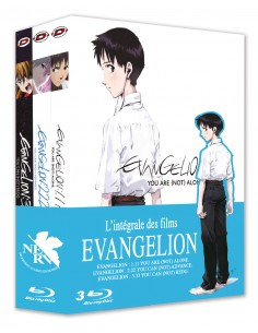 Evangelion - Pack Trilogie Blu-ray