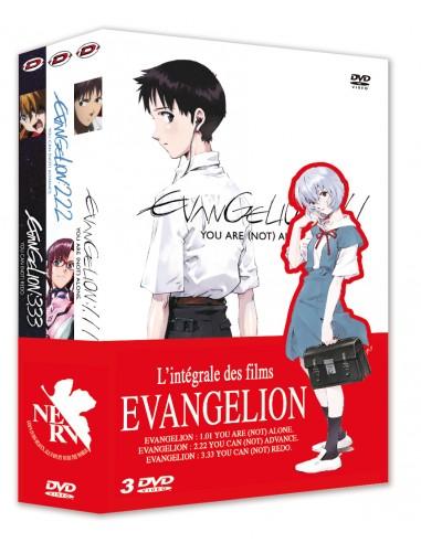 Evangelion - Pack Trilogie DVD