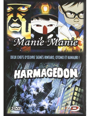 Manie Manie + Harmagedon Pack DVD
