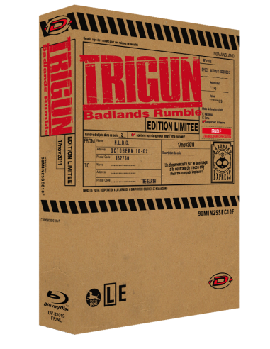 Trigun - Badlands Rumble Blu-ray...