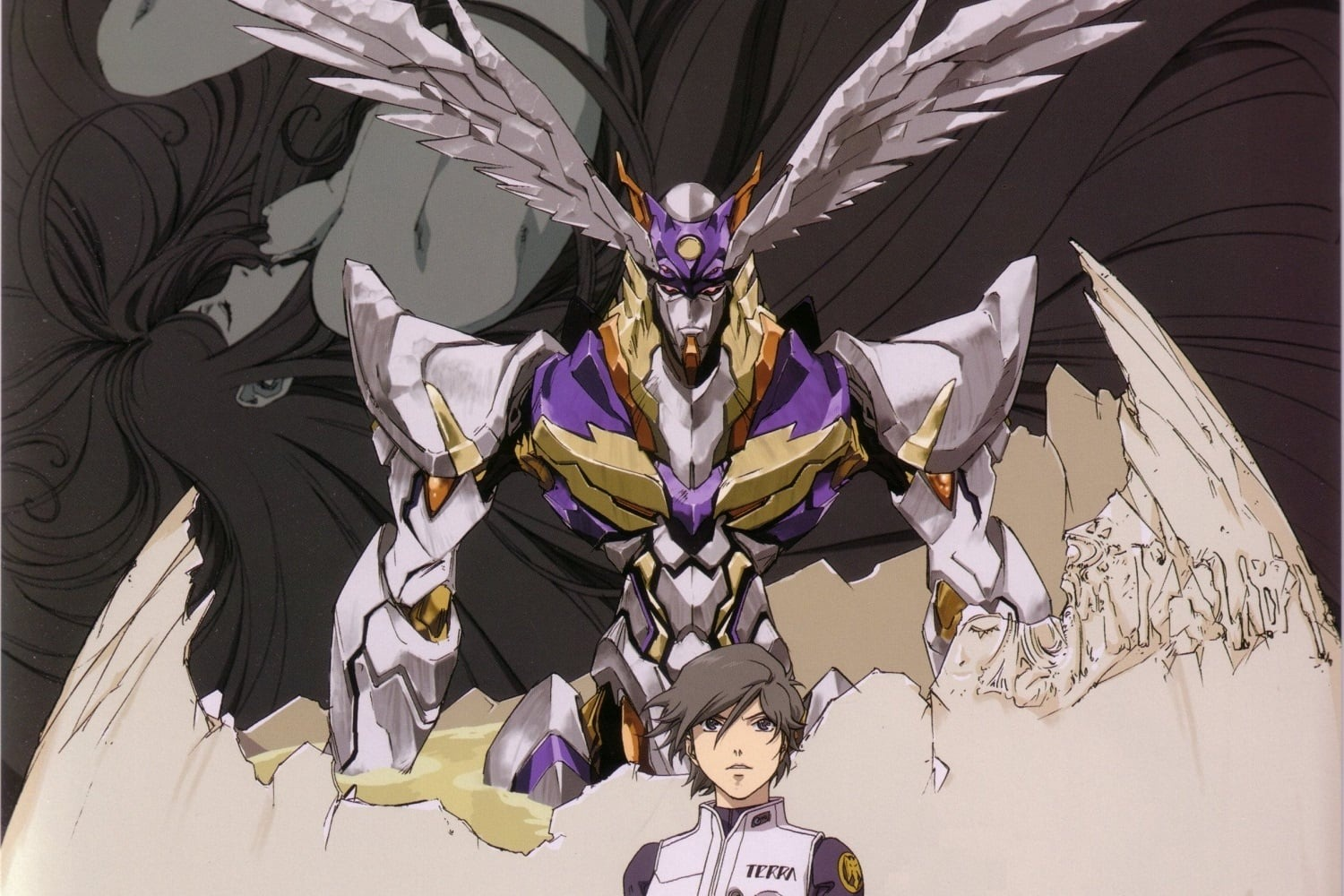 Sing, Rahxephon, sing your own song, your forbidden song!